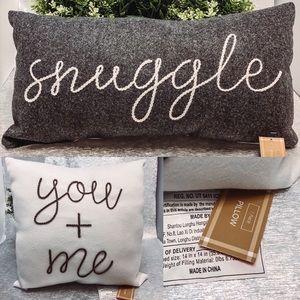 Target Gray Snuggle Pillow bundle
